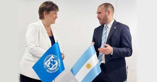 FMI: «Continúan las conversaciones» para un acuerdo de Facilidades Extendidas