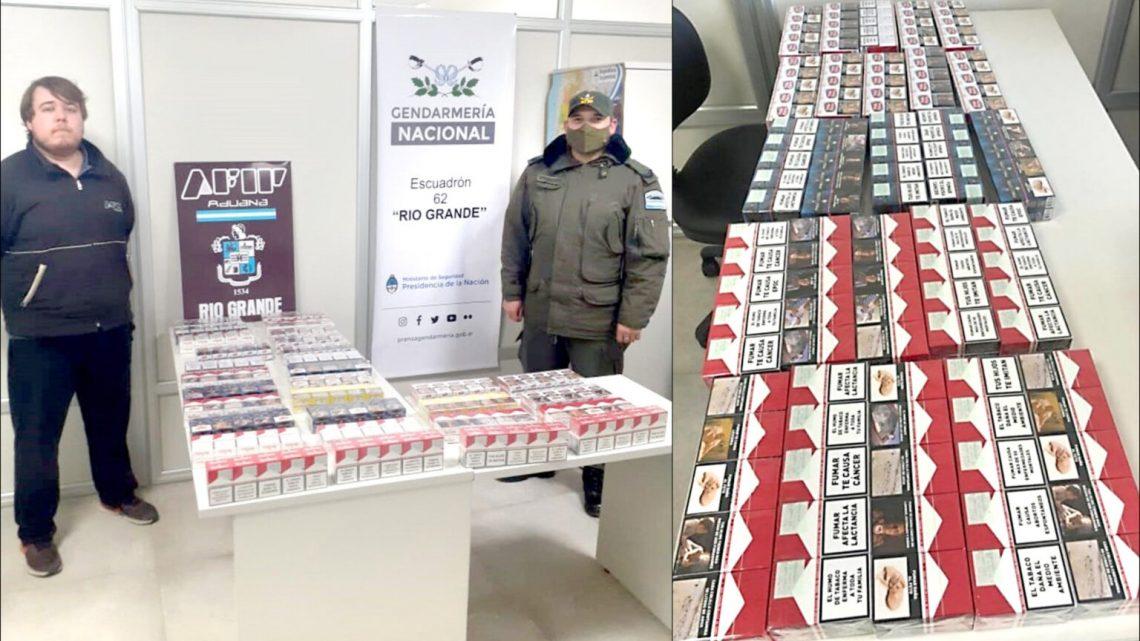 Desbaratan contrabando de cigarrillos en San Sebastián