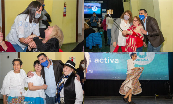 Más de 200 jubilados disfrutaron de un agasajo en el Esther Fadul