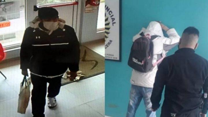 Por Las Cámaras De Seguridad, Atraparon A Un Ladrón En Rio Grande