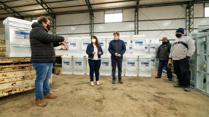 Arribaron los primeros materiales que servirán para dotar de gas a más de tres mil familias
