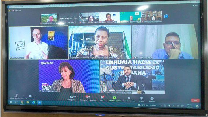 Ushuaia presente en el inicio de la Semana del Clima en Nueva York