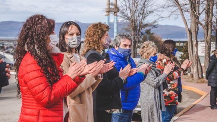 USHUAIA CONMEMORÓ EL DÍA MUNDIAL DE LA PAZ CON UN EMOTIVO ACTO