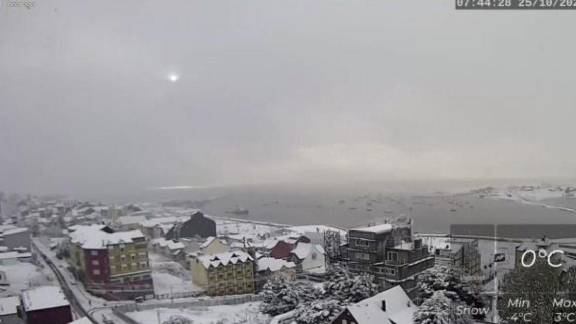 Se extiende el alerta meteorológico para Ushuaia y Río Grande