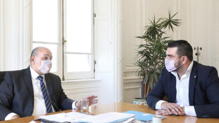 Vuoto le planteó a Manzur la necesidad de resolver la prórroga del subrégimen industrial